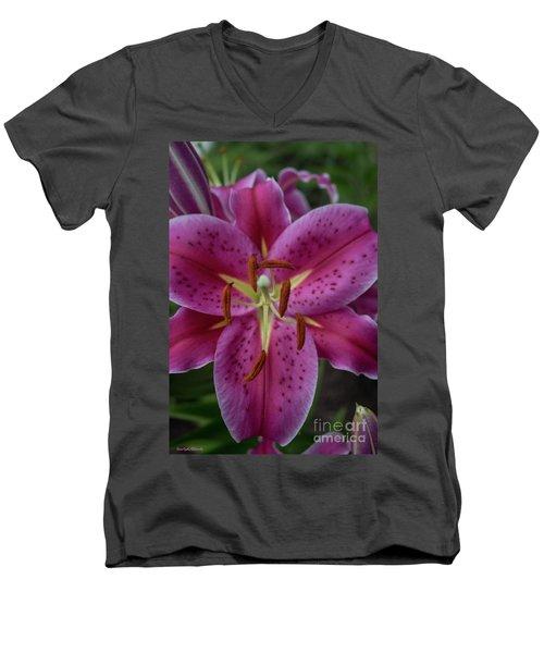 Lovely Lily Men's V-Neck T-Shirt