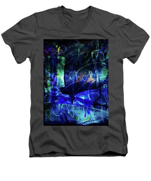 Lovers-1 Men's V-Neck T-Shirt