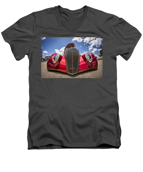 Low And Cool Men's V-Neck T-Shirt
