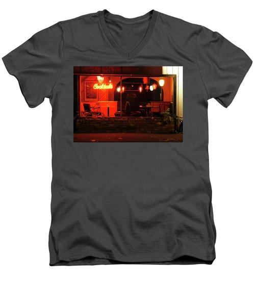 Low Brow Men's V-Neck T-Shirt