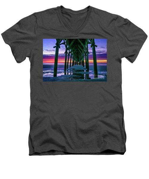 Low Tide Pier Men's V-Neck T-Shirt