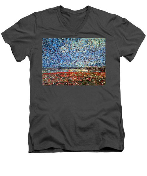Low Tide - St. Andrews Wharf Men's V-Neck T-Shirt