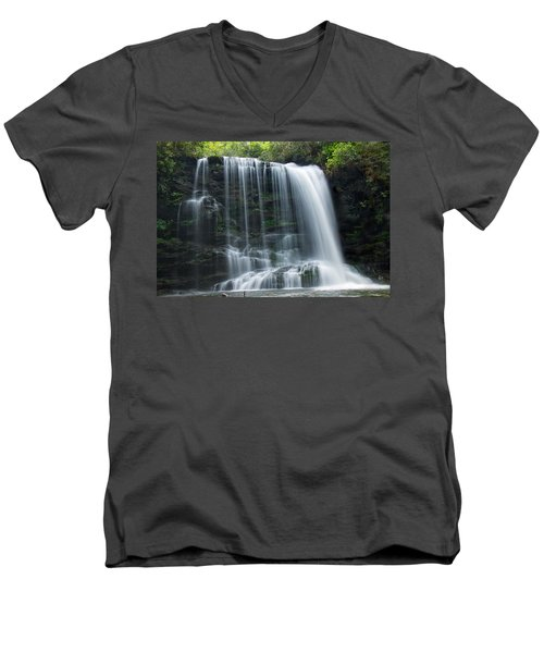 Lower Bearwallow Falls Men's V-Neck T-Shirt