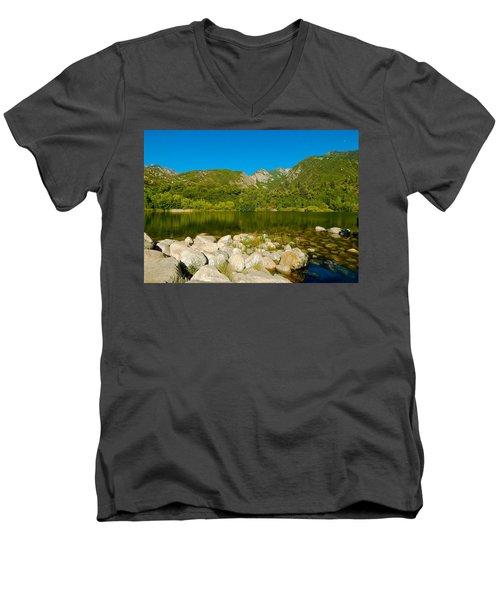 Lower Bells Canyon Reservoir Men's V-Neck T-Shirt