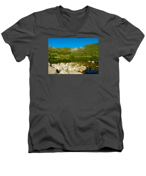 Lower Bells Canyon Reservoir Men's V-Neck T-Shirt
