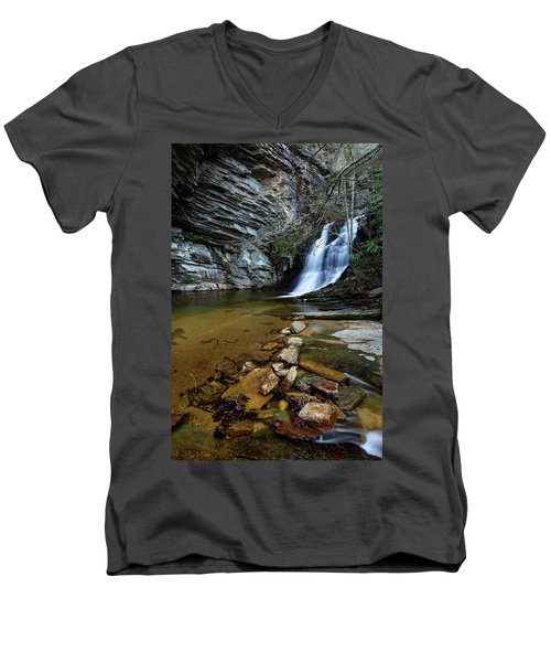 Lower Cascades Men's V-Neck T-Shirt