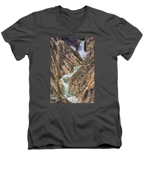 Lower Falls Men's V-Neck T-Shirt
