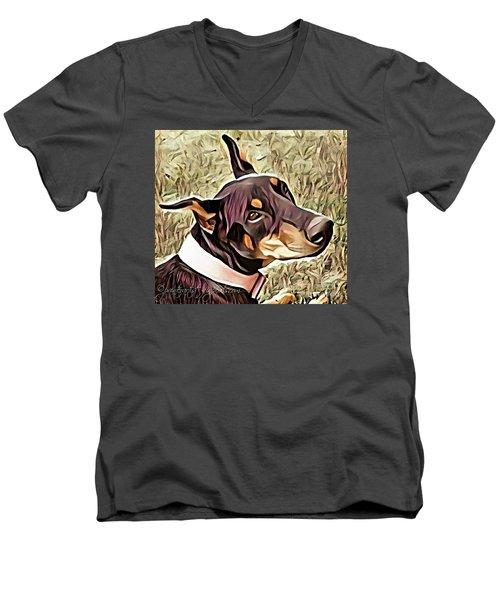 Loyal Beyond Measure Men's V-Neck T-Shirt
