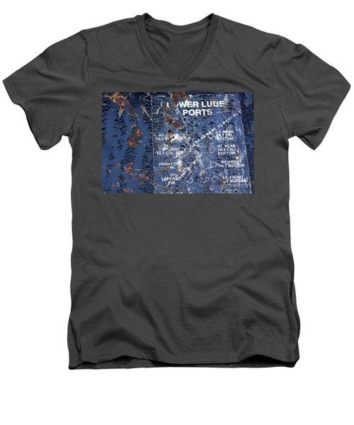 Lube Port Men's V-Neck T-Shirt