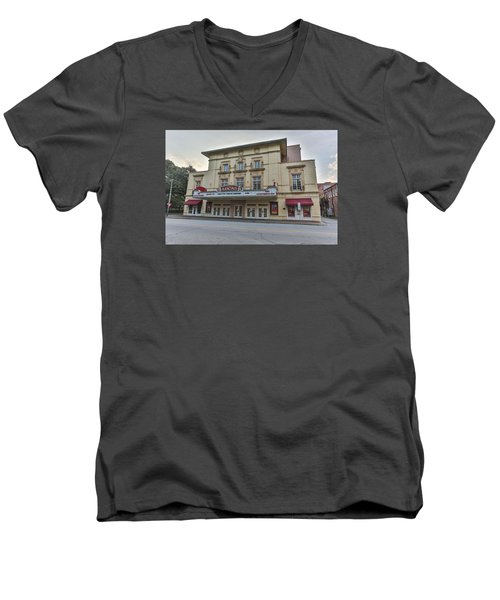 Lucas Theatre Savannah Ga Men's V-Neck T-Shirt