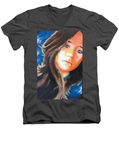 Lucia Men's V-Neck T-Shirt