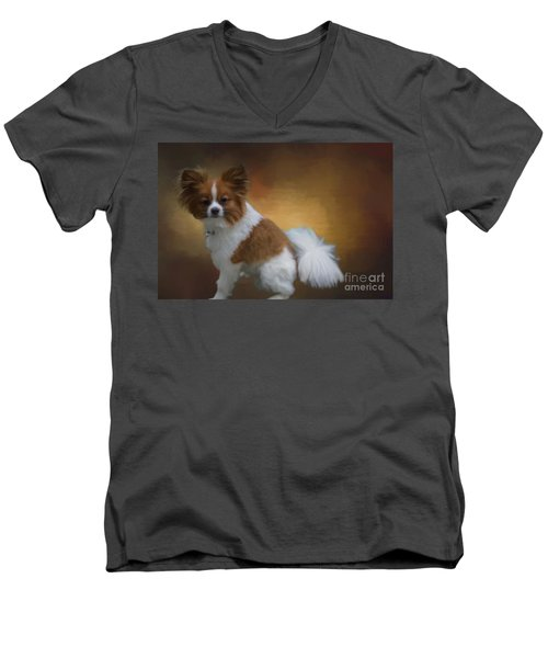 Lucky Men's V-Neck T-Shirt