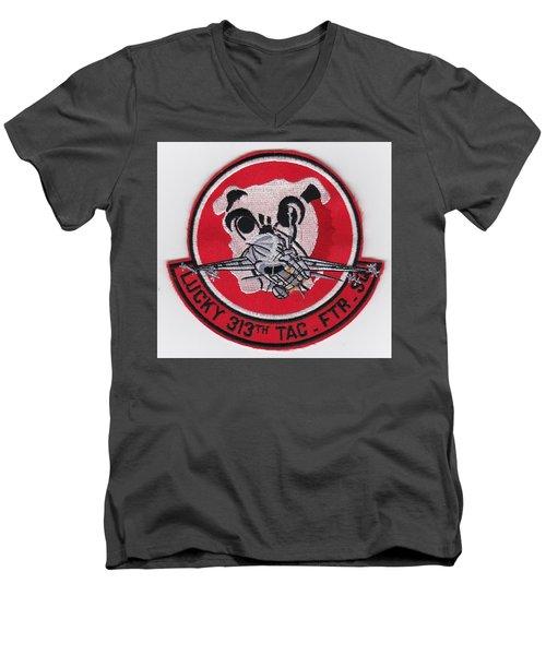 Lucky Puppy Men's V-Neck T-Shirt