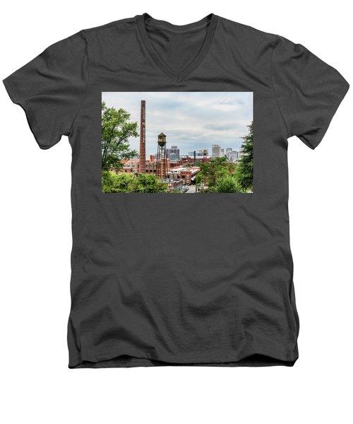Lucky Skyline Men's V-Neck T-Shirt