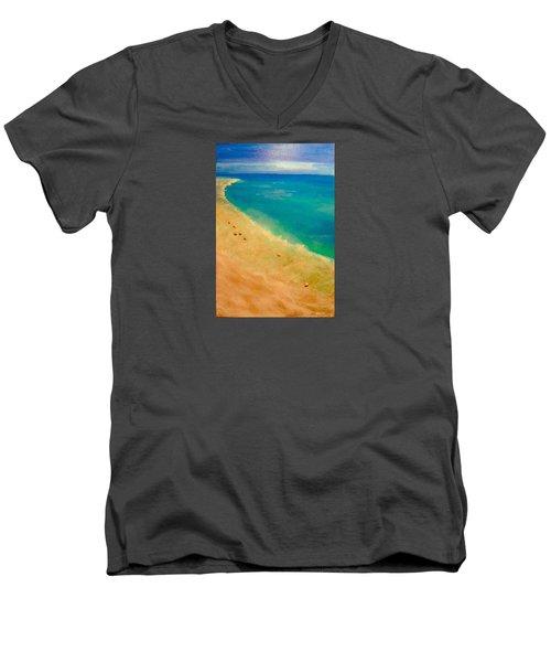 Lumbarda Men's V-Neck T-Shirt