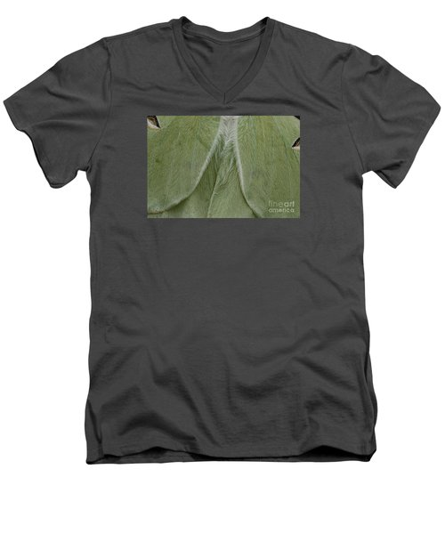 Luna Men's V-Neck T-Shirt by Randy Bodkins
