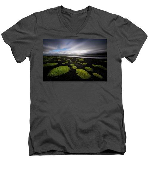 Lunar Moss Men's V-Neck T-Shirt