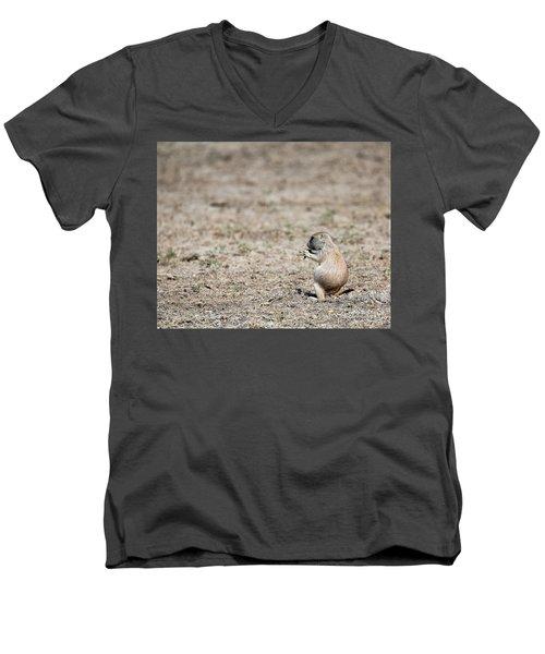 Lunch Time Men's V-Neck T-Shirt