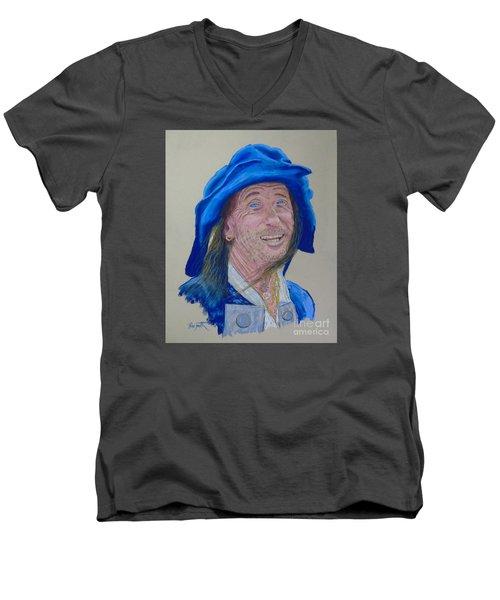 Lunenburg Pirates Men's V-Neck T-Shirt by Rae  Smith