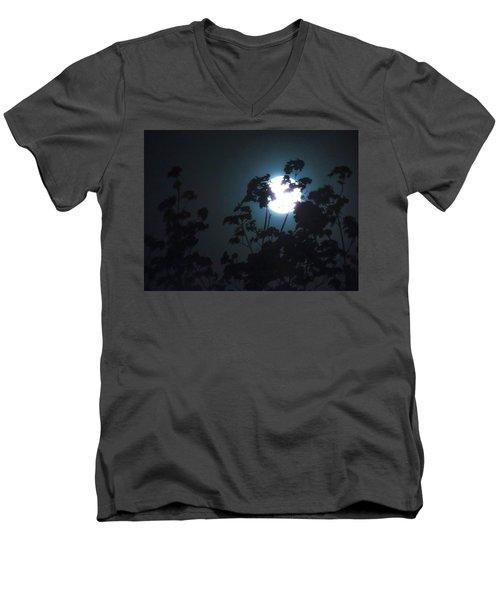 Luner Leaves Men's V-Neck T-Shirt