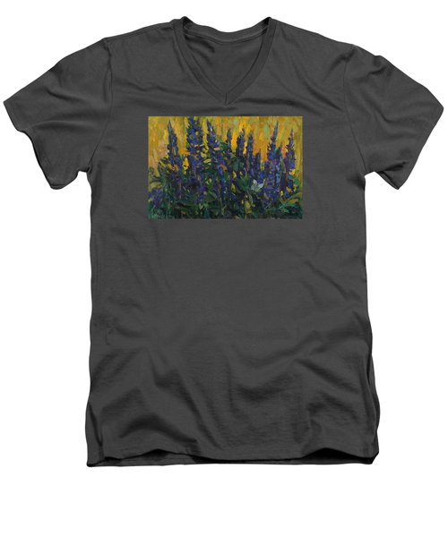 Lupins Men's V-Neck T-Shirt