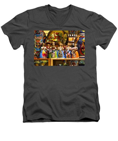 Lupitas Men's V-Neck T-Shirt