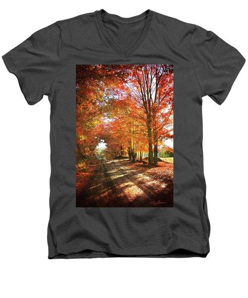 Lupton Road Men's V-Neck T-Shirt