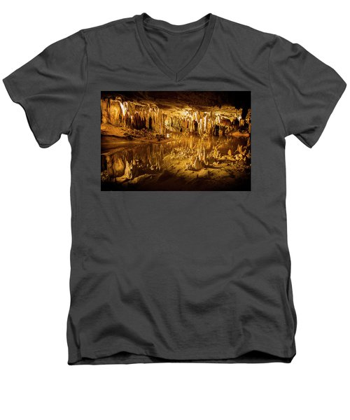 Luray Caverns Men's V-Neck T-Shirt