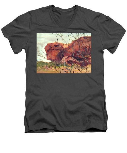 Lurking Rock Men's V-Neck T-Shirt