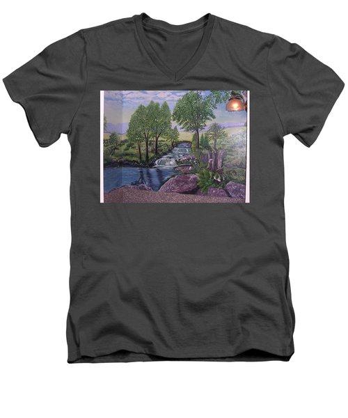 Luxury Bath Time Men's V-Neck T-Shirt