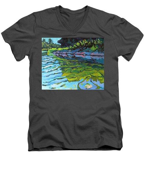 Lyndhurst Shoreline Men's V-Neck T-Shirt