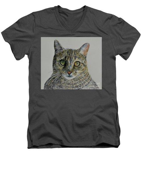 Lyon Men's V-Neck T-Shirt