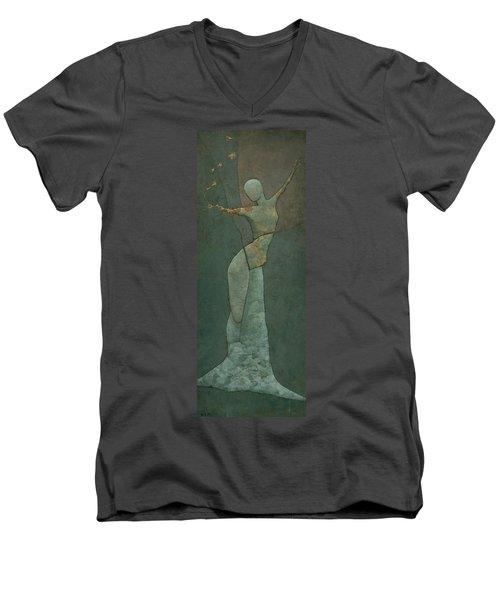 Lyra's Spell Men's V-Neck T-Shirt