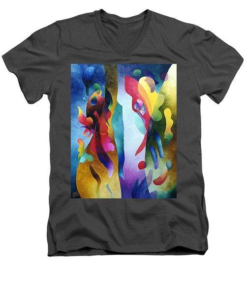 Lyrical Grouping Men's V-Neck T-Shirt