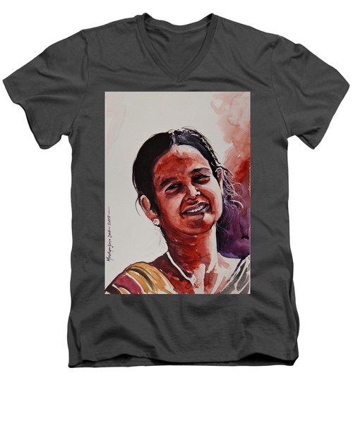 Maa Men's V-Neck T-Shirt