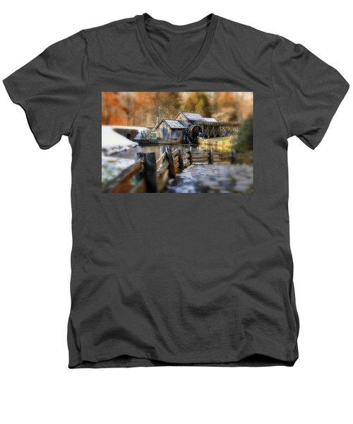 Mabry Mill Dream Men's V-Neck T-Shirt