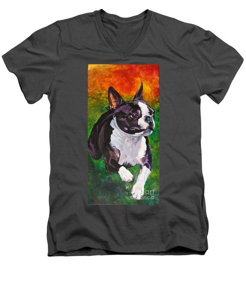 Mach Ellie Men's V-Neck T-Shirt