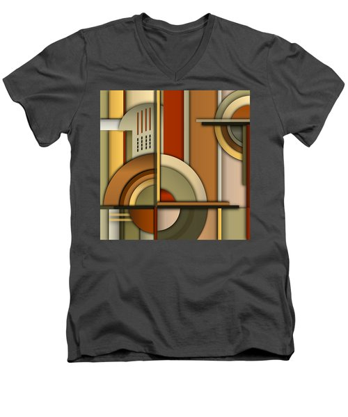 Machine Age Men's V-Neck T-Shirt