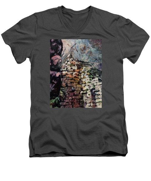 Machu Picchu Ruins- Peru Men's V-Neck T-Shirt