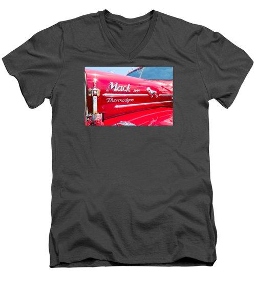 Mack Truck Hood Badges Men's V-Neck T-Shirt