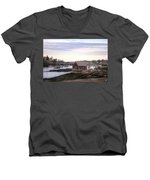 Mackerel Cove Men's V-Neck T-Shirt