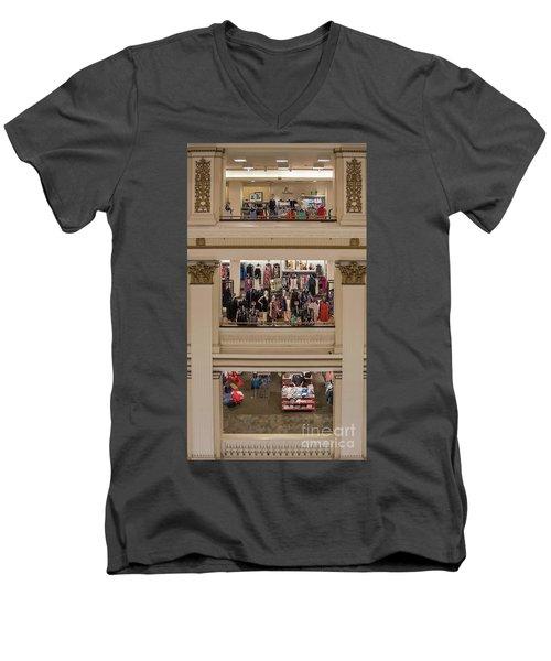 Macy's Department Store Men's V-Neck T-Shirt