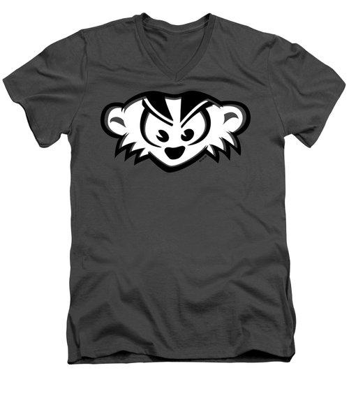 Mad Badger Men's V-Neck T-Shirt