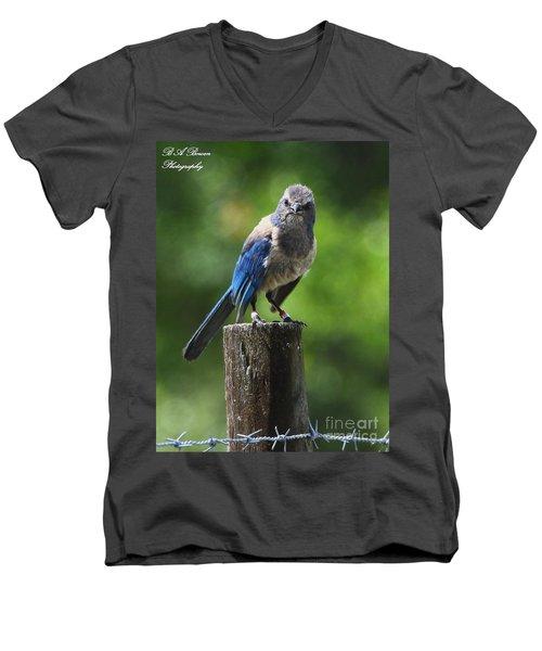 Mad Bird Men's V-Neck T-Shirt