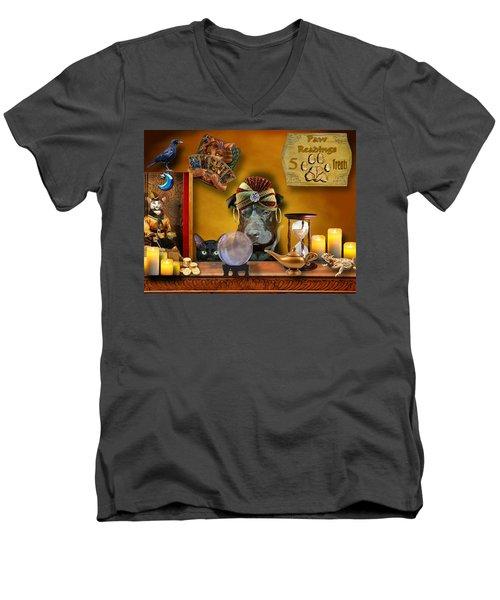 Madam Raisin Men's V-Neck T-Shirt