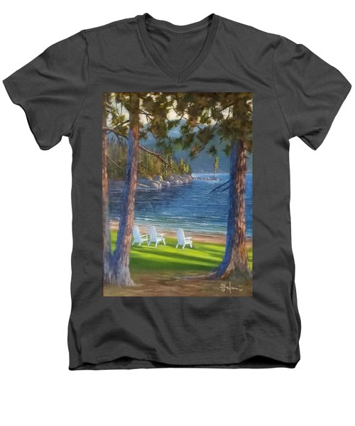 Made In The Shade Men's V-Neck T-Shirt