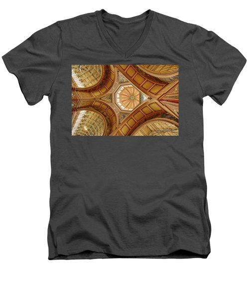 Magestic Architecture Men's V-Neck T-Shirt
