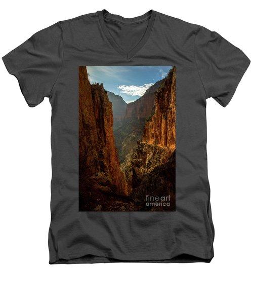 Magestic View Men's V-Neck T-Shirt