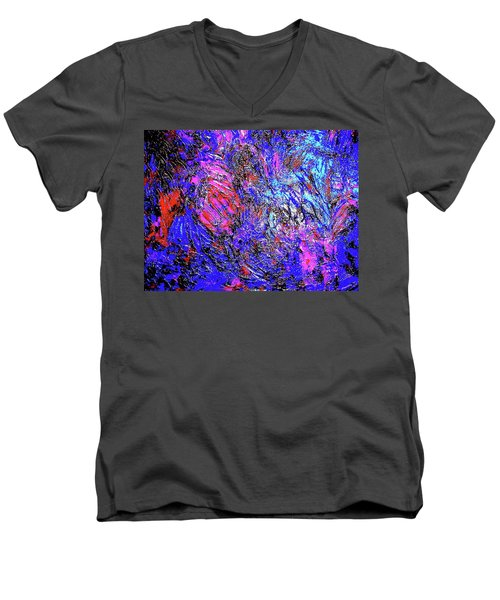 Magic Blue Men's V-Neck T-Shirt