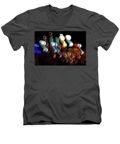 Magic Color Men's V-Neck T-Shirt